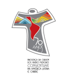 Significado do Selo de 70 anos da presença Franciscana Conventual na América Latina e Caribe