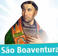 15 de Julho: SÃO BOAVENTURA, Doutor Seráfico.
