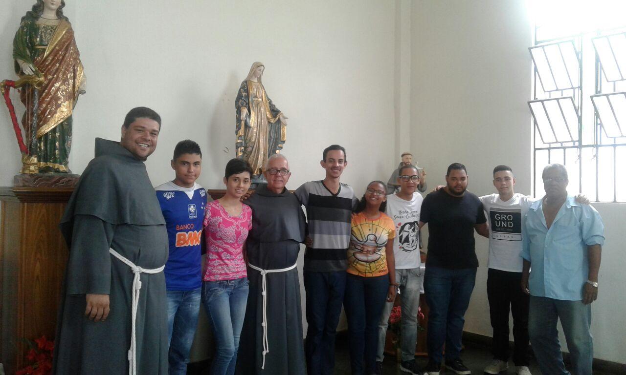 Falando sobre vocação com Jovens de Belo Horizonte