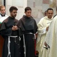 Profissão Simples dos Freis Jesus e Ricardo