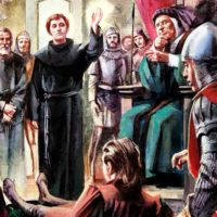 Como São Francisco ensinou aos frades a ganharem pela humildade e caridade as almas de alguns ladrões