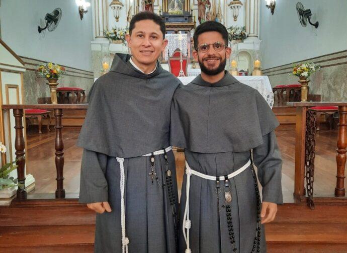 Profissão Perpétua de Frei Ricardo da Cruz e Frei Jesus Amaral