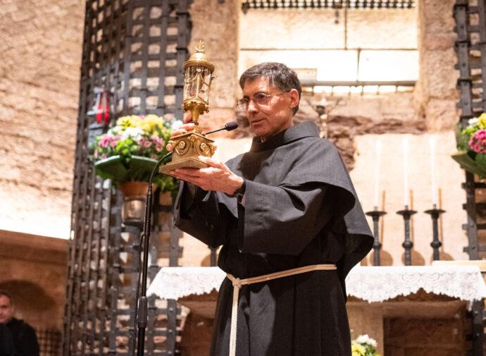 Saudação do Ministro geral na Solenidade de São Francisco de Assis